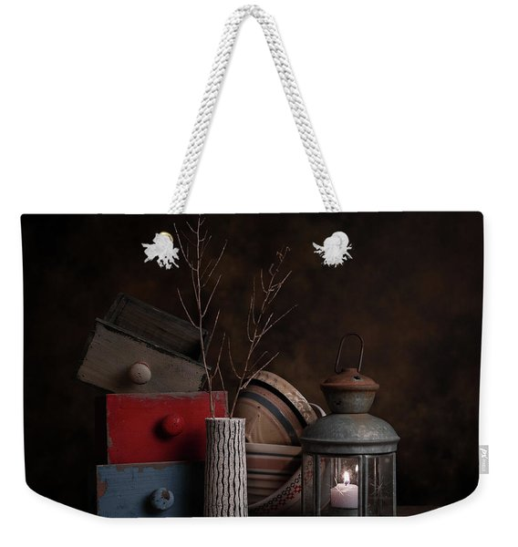 Boxes And Bowls Weekender Tote Bag