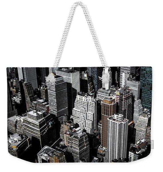 Boxes Of Manhattan Weekender Tote Bag