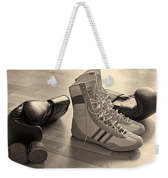 Boxing Weekender Tote Bag