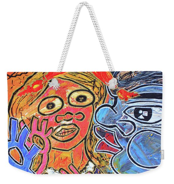 Boy Meets Girl Weekender Tote Bag