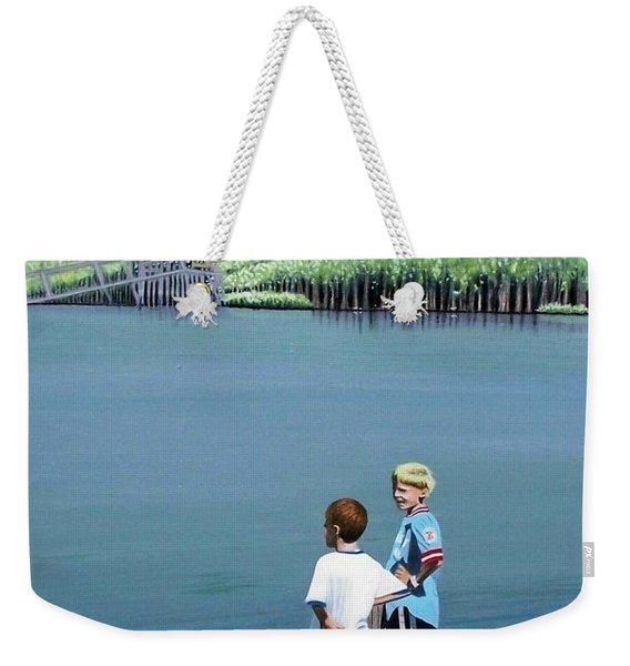 Boys Of Summer Weekender Tote Bag