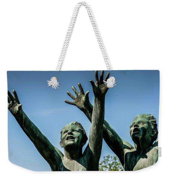 Boys Rejoice Weekender Tote Bag