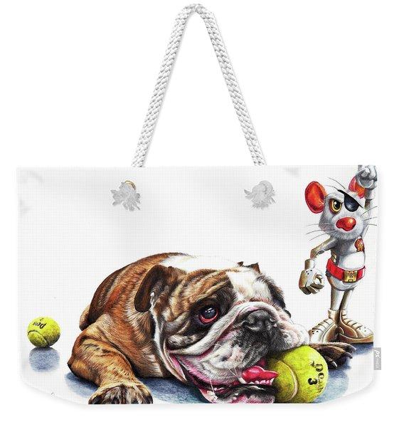 Boy's Toys Weekender Tote Bag
