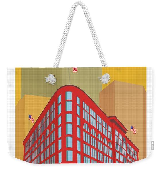Denver Brown Palace/gold Weekender Tote Bag