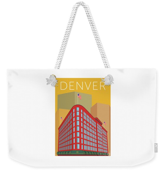 Denver Brown Palace/gold Weekender Tote Bag