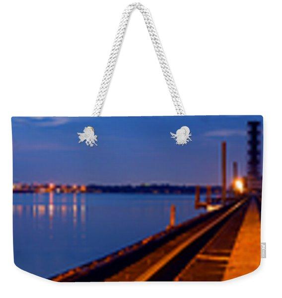 Bradenton Railway Bridge Weekender Tote Bag
