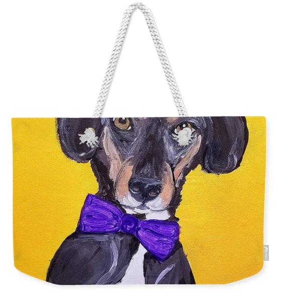 Brady Date With Paint Nov 20th Weekender Tote Bag