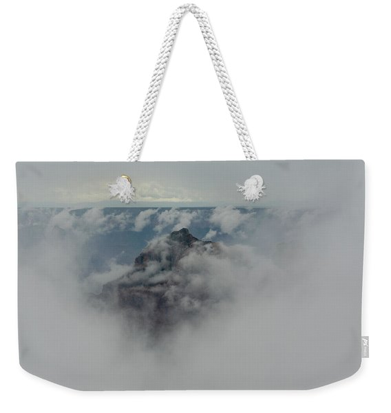 Brahma Temple In A Sea Of Clouds Weekender Tote Bag