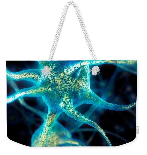 Brain Cell Neurons Weekender Tote Bag