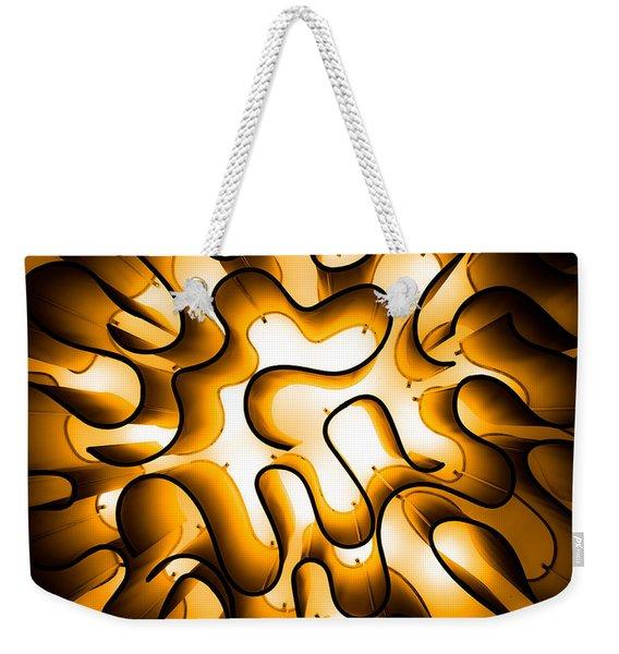Brain Lighting Weekender Tote Bag