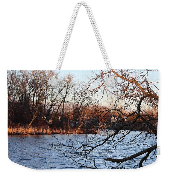 Branches Over Water Weekender Tote Bag