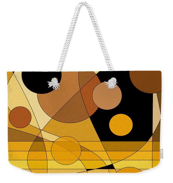 Brass Weekender Tote Bag