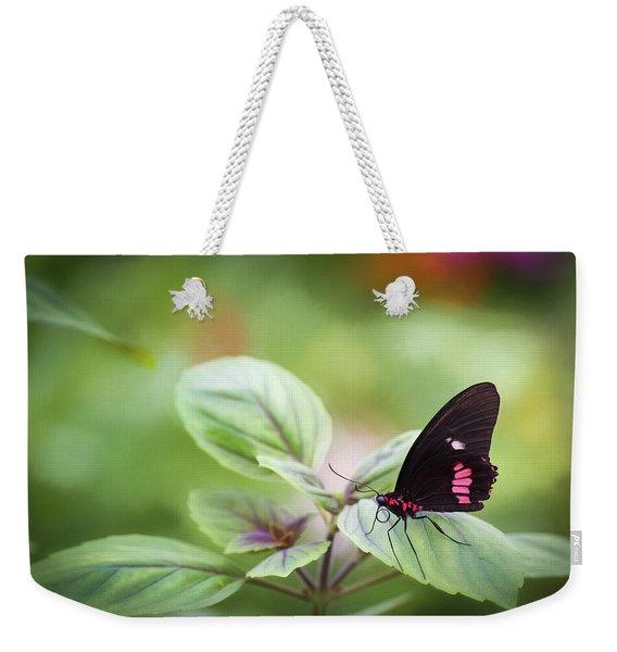 Brave Butterfly  Weekender Tote Bag