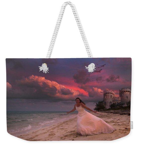 Brave New World Dimensions Custom Weekender Tote Bag