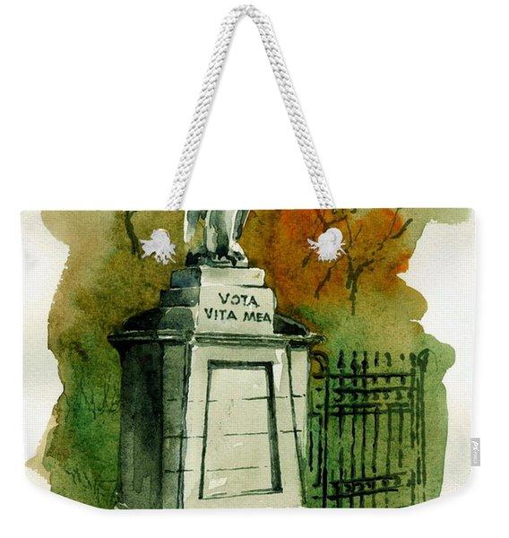 F 794 Bray... Entrance To Killruddery Weekender Tote Bag