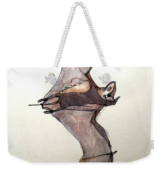 Brazilian Free-tailed Bat Weekender Tote Bag