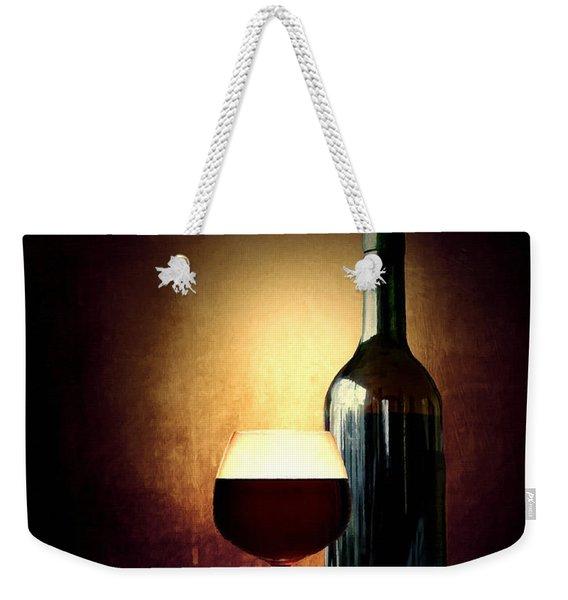 Bread And Wine Weekender Tote Bag
