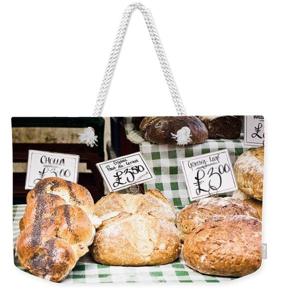 Bread Stall Weekender Tote Bag