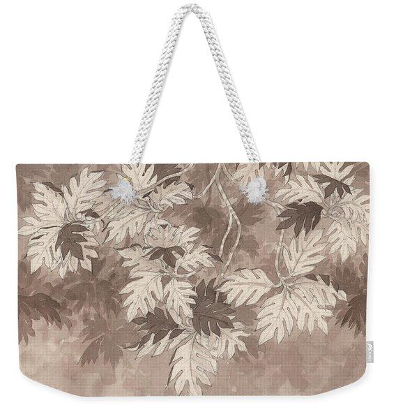 Breadfruit Tree Weekender Tote Bag