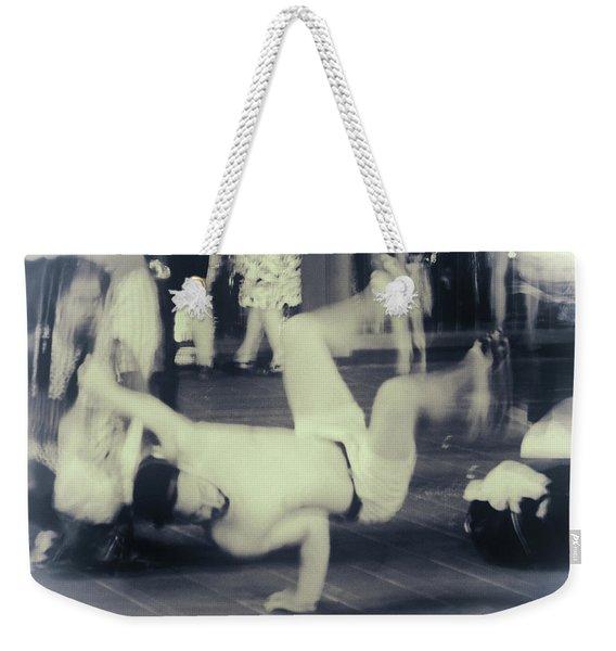 Break Dance Weekender Tote Bag