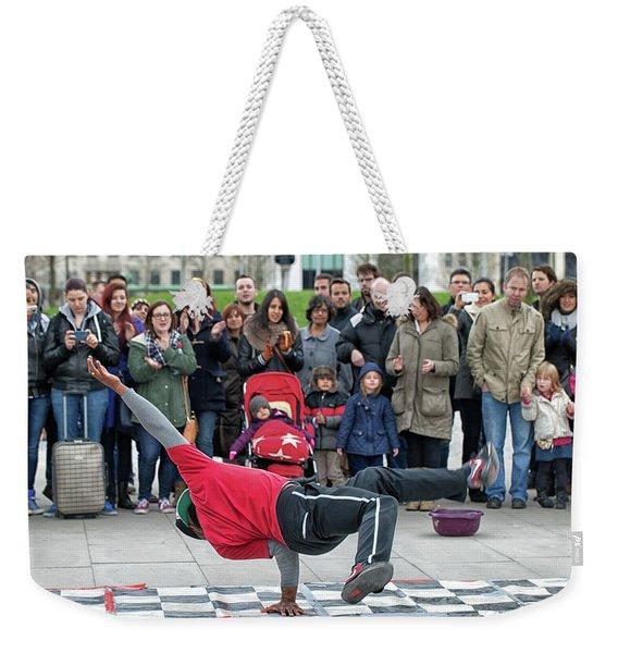 Breakdancer Weekender Tote Bag