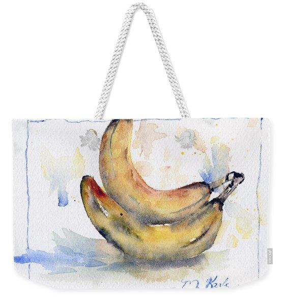 Breakfast Bananas Weekender Tote Bag
