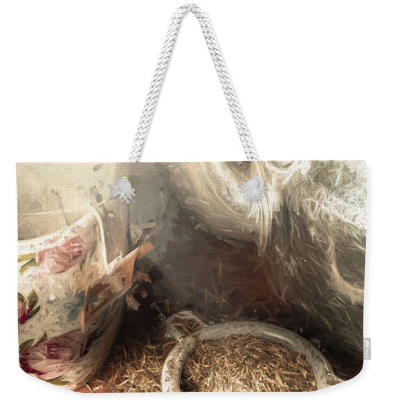 Breakfast In Bed At A Bed And Breakfast Weekender Tote Bag