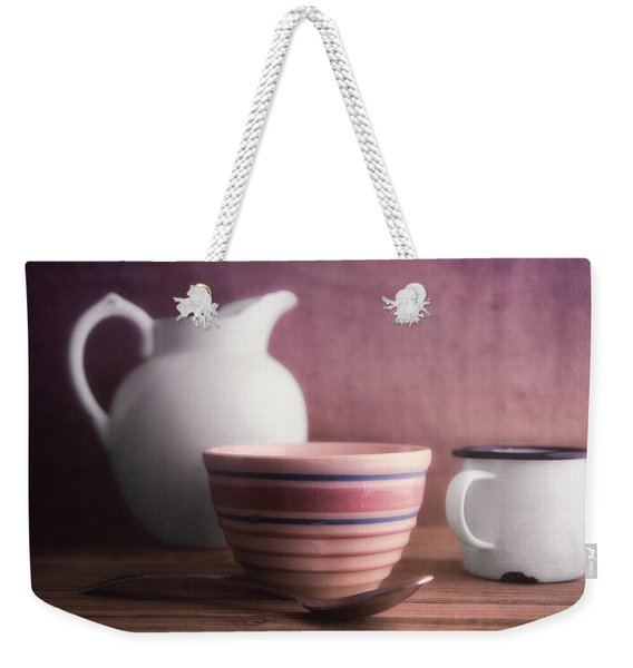 Breakfast Still Life Weekender Tote Bag