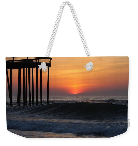 Breaking Sunrise Weekender Tote Bag