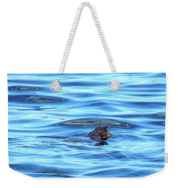 Breaking Surface Weekender Tote Bag