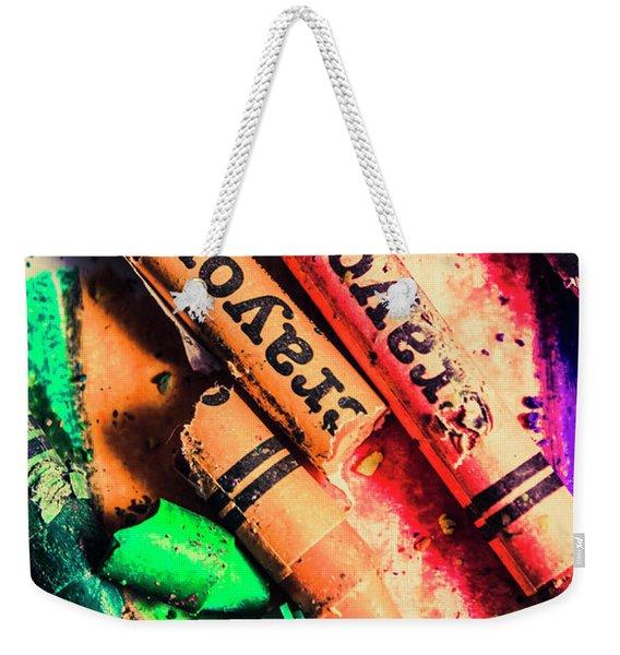 Breaking The Creative Spectrum Weekender Tote Bag