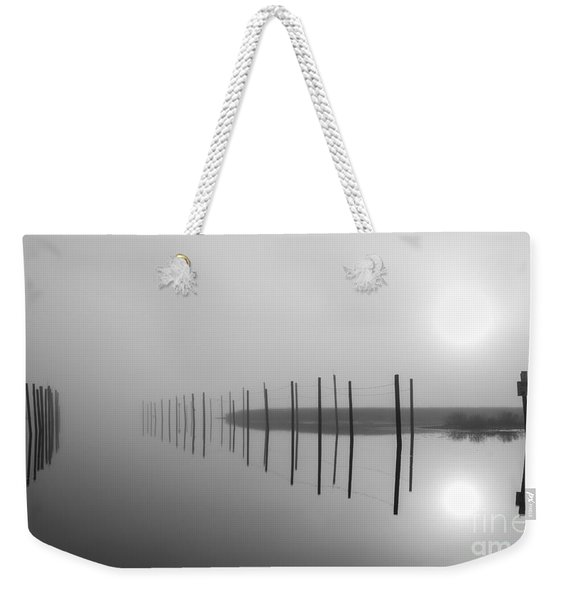 Breaking Through The Fog Weekender Tote Bag