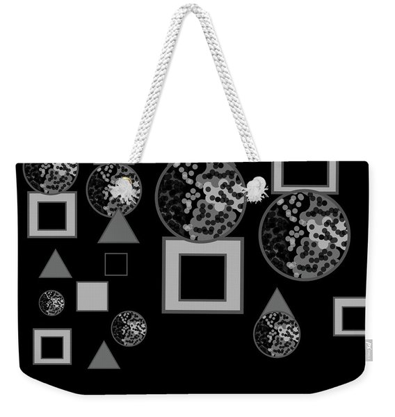 Breaking Through The Shadows Expanded No. 3 Weekender Tote Bag