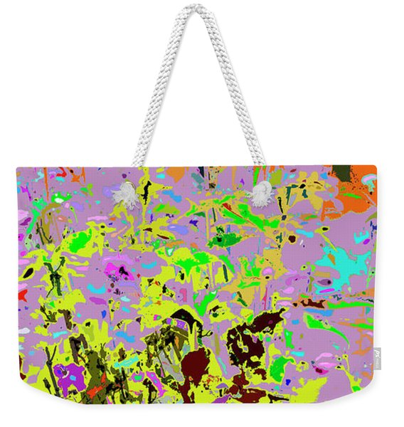 Breathing Color Weekender Tote Bag