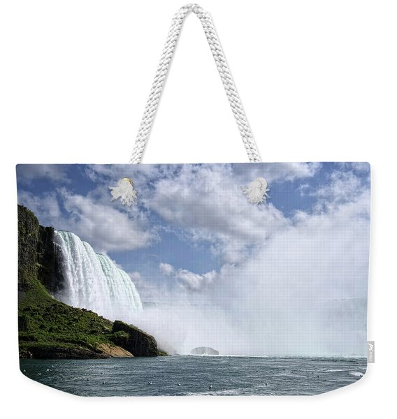 Breathless Weekender Tote Bag