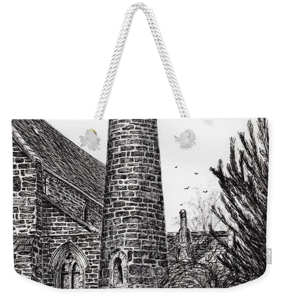 Brechin Round Tower Weekender Tote Bag