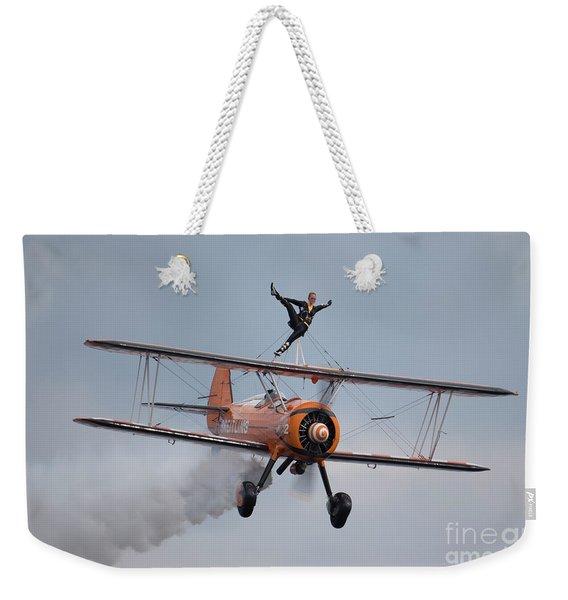 Breitling Wing Walker Weekender Tote Bag