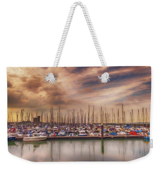 Breskens Marina Weekender Tote Bag