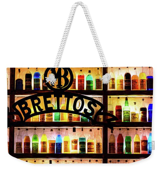 Brettos Bar In Athens, Greece - The Oldest Distillery In Athens Weekender Tote Bag