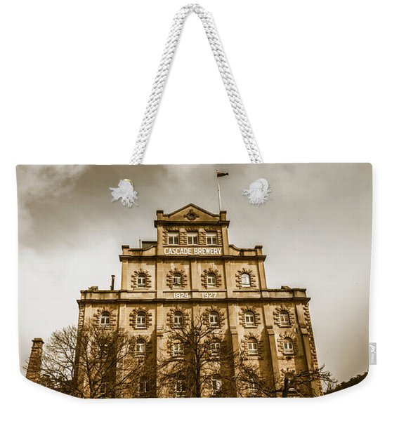 Brewery Building Weekender Tote Bag