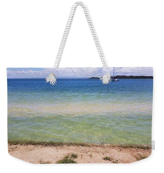 Bribie Ocean  Weekender Tote Bag