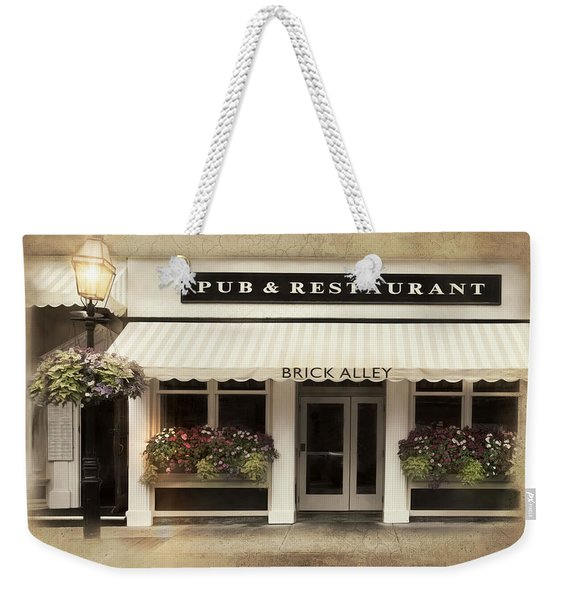 Brick Alley Weekender Tote Bag