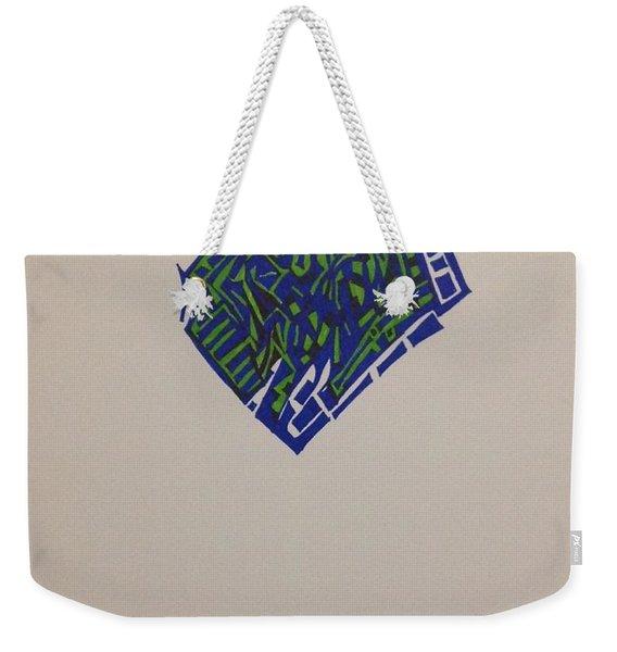 Brick Weekender Tote Bag