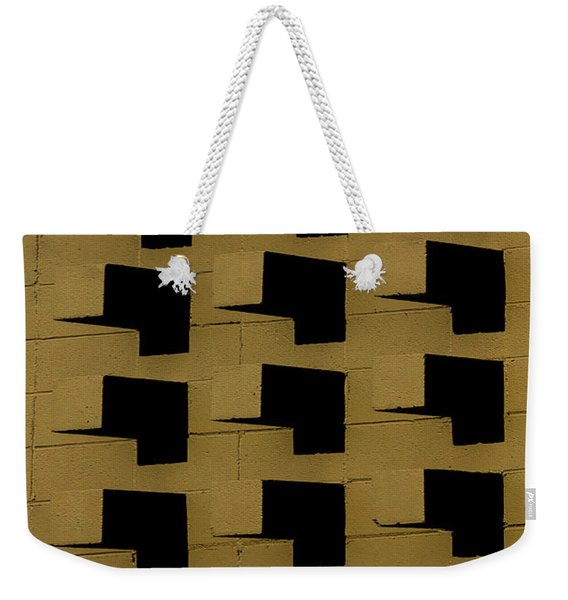 Bricks Weekender Tote Bag