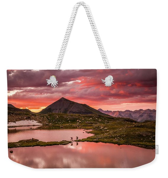 Bridal Veil Basin 2 Weekender Tote Bag