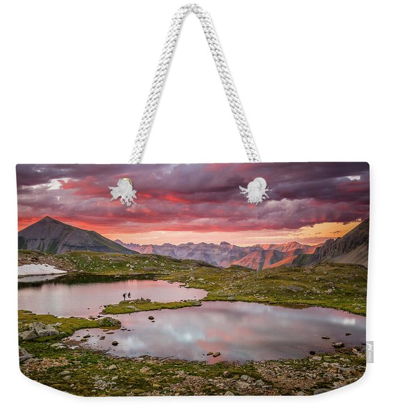 Bridal Veil Basin Weekender Tote Bag