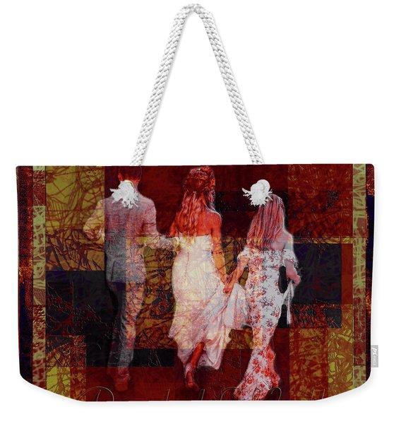 Bridal Walk Weekender Tote Bag