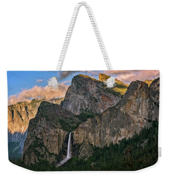 Bridalveil Falls From Tunnel View Weekender Tote Bag