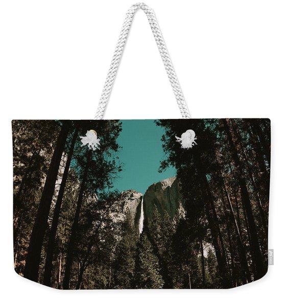 Bridalveil Falls Weekender Tote Bag
