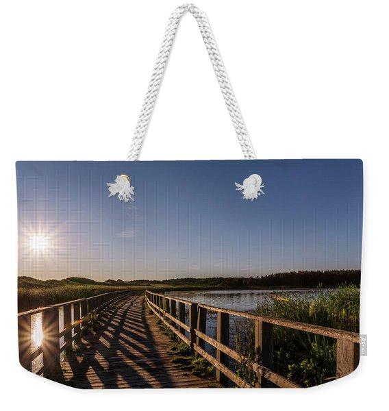 Bridge Across Shining Waters Weekender Tote Bag